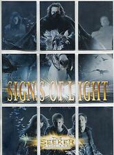 The Seeker The Dark Is Rising Complete Signs Of Light Chase Card Set S1-9