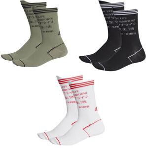 Adidas Mens Womens Crew Socks Alphaskin Functions Sports Fashion Everyday Sock