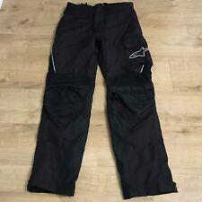 Alpinestars Drystar Black Waterproof Motorbike Motorcycle Biker Trousers Size XL