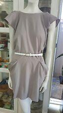 TopShop dress.Sz12.Crepe Gorgette.Elasticised at back.Excellent cond