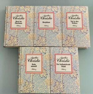 Agatha Christie - 5 Bücher,...