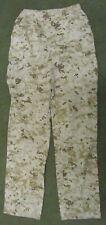 GENUINE US MARINES USMC MCCUU DIGITAL DESERT MARPAT COMBAT TROUSERS. SMALL-LONG