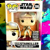 Concept Series Starkiller 2020 Galactic Convention Exclusive Star Wars Funko POP