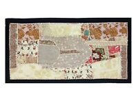 wall art Tapestry Antique Bohemian Embroidered Patchwork  Wall Hanging TD58