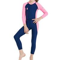 Kids Wetsuit, Children Thermal Swimsuit, Full Body Long Sleeve Boys Girls Wet
