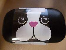 Cul-de-sac contact case DOG face ! NWT