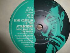 record single ELVIS COSTELLO ATTRACTIONS Good year for the rose 1981 XX 17 vinyl