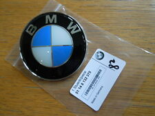 BMW GENUINE BONNET BOOT EMBLEM BADGE Fits ALL series 82mm *NEW RESIN TYPE*