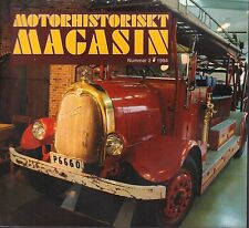 Motorhistoriskt Magasin Swedish Car Magazine #2 1994 Tidaholms 031617nonDBE