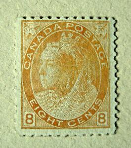 Canada Postage Stamp 1898 - 1902 Victoria 8 Cents Unused No Gum