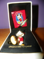 SWAROVSKI DISNEY RARE - ARRIBAS -JEWELED MICKEY MOUSE - BOXED SET - RETIRED