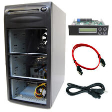 1-5 Duplicator SATA CD DVD Barebone Copier Tower + 7 Bay Case and Controller