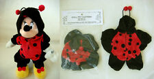 Disney Minnie Mouse Beanie Custom Dressed in a Ladybug Costume