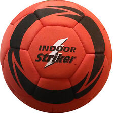 NEW SIZE 4 RED FELT SUEDE COVERED INDOOR SOCCER BALL Orono Striker