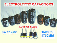 1000 Mfd uF  Microfarad 63 Volt DC  Electrolytic Capacitor Pack Of 4