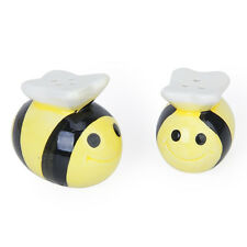 Ceramic Bee-Pattern Salt and Pepper Shakers Wedding Party Bag Fillers Gife Set