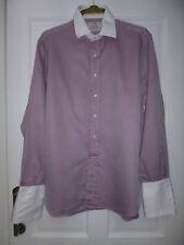 Mens FABIO INGHIRAMI formal Italian designer cotton shirt size 16.5