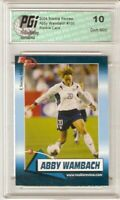 2004 Abby Wambach TEAM USA World Cup True Rookie Review card PGI 10