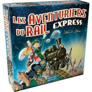 Les Aventuriers du Rail Express jeu de société à partir de 8ans de 2 à 4 joueurs