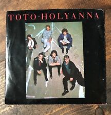 Toto-Holy Anna-45 RPM Record-Columbia Records-1985-Isolation-Promo-Vintage Music