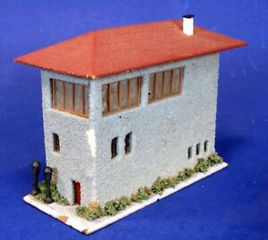 Faller HO Scale Built-Up Wood & Stucco Railway Control Tower 124