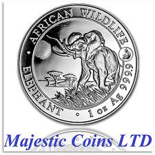 2016 Somalia Elephant Silver African Wildlife 1 Oz Monkey Privy