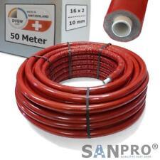 50 M Alluminio Tubo Composito 16x2 Con 10 MM Isolamento - Dvgw Tubo a Strati