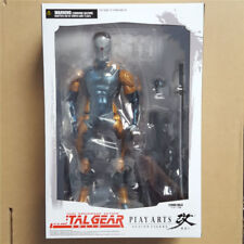 METAL GEAR SOLID PLAY ARTS KAI GRAY FOX CYBORG NINJA PVC ACTION FIGURE NEW