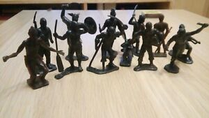 Vintage toy soldiers pirates, Vikings of the USSR