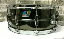 Vintage 1979/80 Ludwig 14″ x 6.5″Black Beauty Supraphonic Snare Drum REAL DEAL
