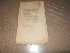 Letter To George Washington Thomas Paine 1796 Original