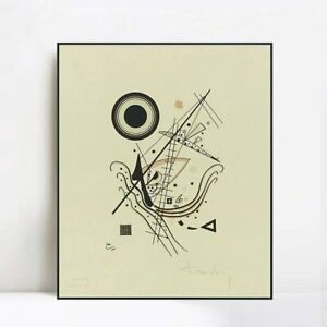 Framed Wall Art Blau,NO.14 from an Edition of 100 by Wassily Kandinsky Home