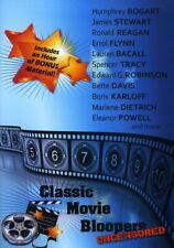 Classic Movie Bloopers Uncensored [New DVD] Uncensored