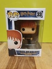 💕💖 Harry Potter Funko Pop Fred Weasley with briefcase + Pop Protector 💖💕