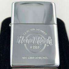 Hard Rock Cafe Zippo Lighter WASHINGTON, D.C. 🇺🇸 - polished Chrome - NEW