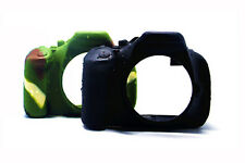 Camo Silicone Armor Skin Case Camera Cover for Canon 600D 650D 700D T3i T4i T5i