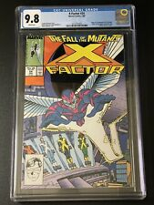 X-Factor #24 CGC 9.8 White Pages 1st Archangel!