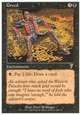 MTG 1x GREED - 7th Edition *Rare Draw Cards NM*