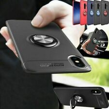Magnetic Ring Holder Back Case Cover for Samsung Galaxy Note 10 S8 S9 S10 Plus