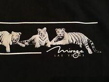 Vtg 90s Rare! Siegfried & Roy White Tigers Mirage Las Vegas Sweat Shirt Small