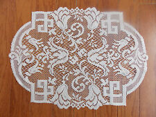 HERITAGE LACE IVORY EMPRESS SET OF 4 PLACEMATS ITEM 6096