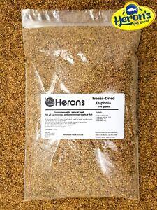 HERONS Freeze Dried Daphnia [100g] CICHLID GOLDFISH KOI FRY TROPICAL FISH FOOD
