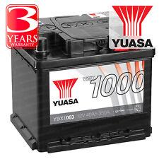 Yuasa YBX1063 Car Battery Calcium 12V 350CCA H:175 L:207 W:175 40Ah T1 Terminal