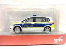 Herpa 093576 Volkswagen VW Touran Polizei Brandenburg 1:87 Neu