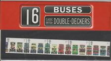 GB 2001 BUSES DOUBLE DECKER PRESENTATION PACK NO 323 SG 2210-2214 MINT STAMP SET