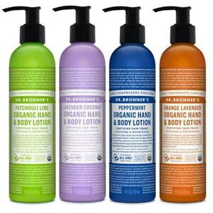 Dr. Bronners Organic Hemp Body Lotion | Natural Sustainable Hand and Body Lotion