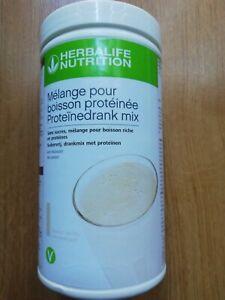Mélange pour boisson protéinée herbalife 588G  vanille