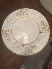Este CE Made In Italy R.H.Macy Vintage Big Dinner Plates 6 Pieces Size 13 Inch