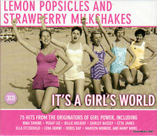 LEMON POPSICLES - IT'S A GIRL'S WORLD - (3CD BOX SET)
