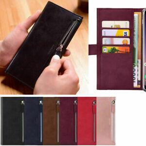 Bestie Zipper Wallet Case for Samsung Galaxy S21/ Plus/ Ultra/ S20 S10 S9 S8 S7